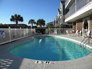 Surfside Beach condo photo - Pool and pool deck for the use of residents of six units