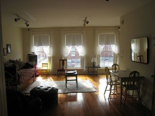 Belfast apartment photo - Windows face south and give wonderful light Older view......