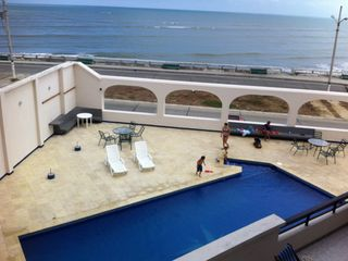 Bahia de Caraquez condo photo - Newly renovated pool