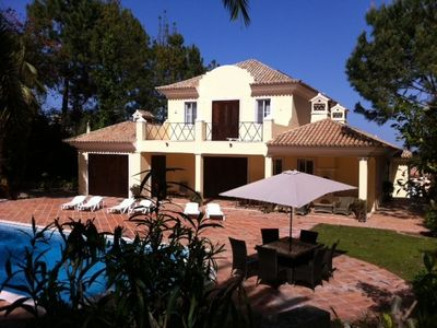 Quinta do Lago villa rental - Pool Area
