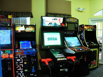 Arcade Center in Club House. Vacation Rentals
