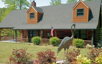 River Landing Log Cabin is near the Hickory Nut Gorge &  Chimney Rock