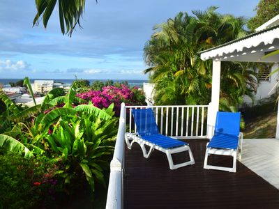 image for Holiday bungalow in Sainte-Anne, sea view, directly in the beach