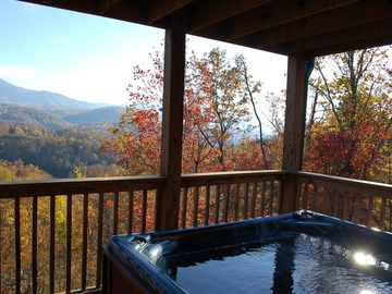 Large Hot Tub with Great View