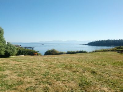 Spacious, historic waterfront home on sunny southern tip of Lopez Island