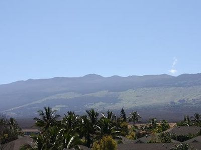 Mount Haleakala from Main Level Bedroom