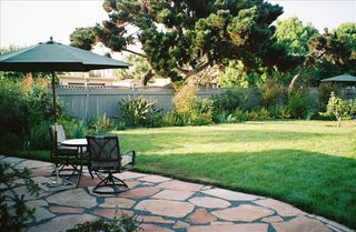 Pacific Beach house photo - Private Fenced Yard.
