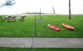 Burt Lake cabin photo - 2 Kayaks--Volly Ball--ShuffleBoard--Fire Pit-Dock