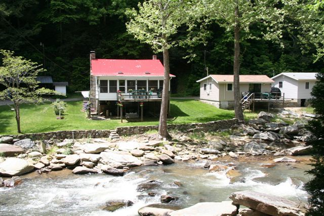 Riverfront Cabin With Trout Fishing At Your Vrbo