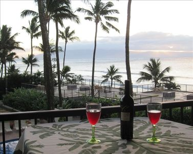 Your Oceanfront View from your Lanai