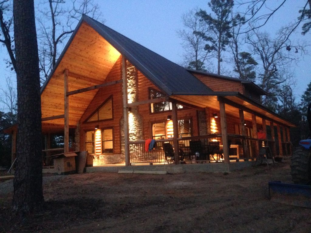 Hickory Lodge Luxury Cabin Near Lake Trout Homeaway