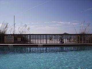 Indian Rocks Beach condo photo - Pool, Beach, Ocean
