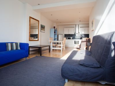 City of London Financial District apartment rental - Flat 2 - Huge Living Room Space