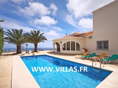 Lovely villa with stunning sea views and large private pool.