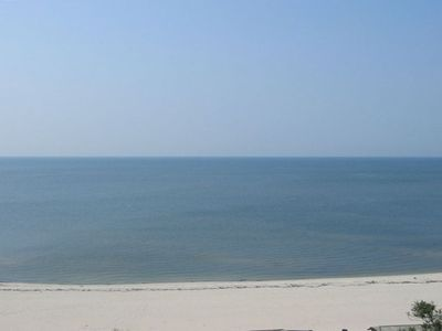 View of Gulf of Mexico from Balcony!