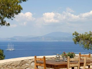 Hydra Island house photo - West sea view