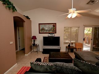 Great room with 3D HDTV, 3D Blu-ray surround sound. - Phoenix house vacation rental photo