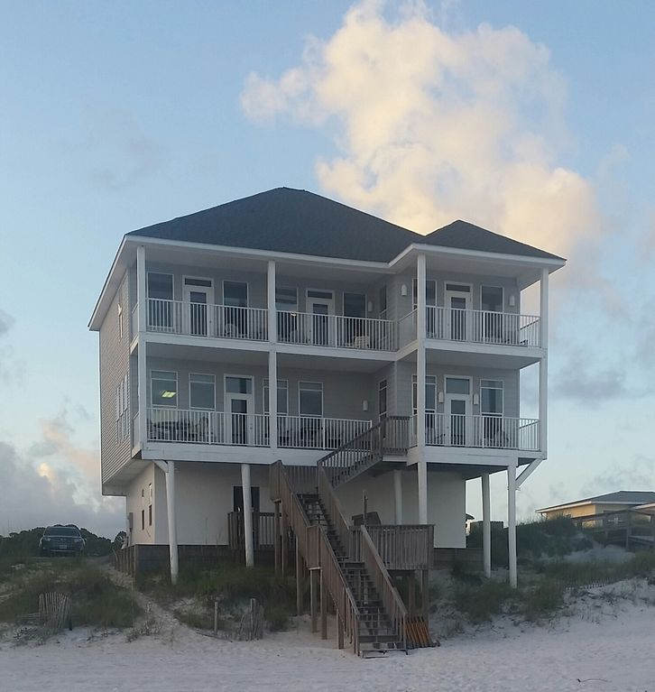 About Time - Gulf Front, Dune Allen Beach. All bedrooms are gulf front!!