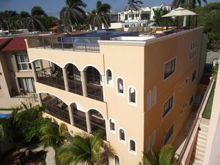 Playacar house photo - Complete back View of Casa del Sol - Altavista!