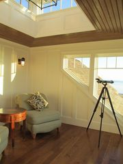 Provincetown estate photo - Third Floor Tower Room w/ Wet Bar and Deck