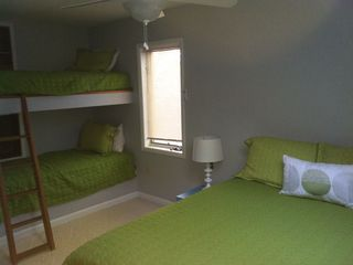 Wintergreen house photo - Loft bedroom with twin bunks and Queen sized bed.