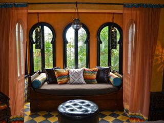 Tamarindo house photo - Sitting area in the Mirador room...enjoy morning coffee relaxing in your oasis