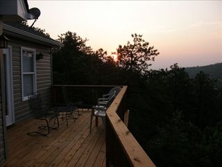 Massanutten house photo - Watch the sun come up through the beautiful Valley