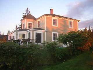 Pemaquid Point cottage photo - Where you can almost see the White Cliffs of Dover
