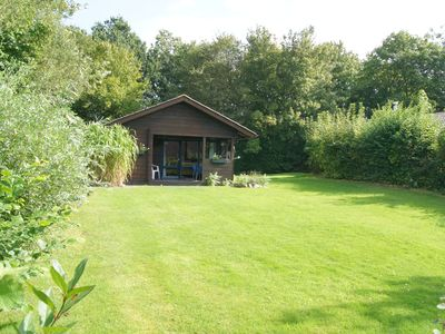 Block house with large garden - just 5 minutes to the beach - parking at the door