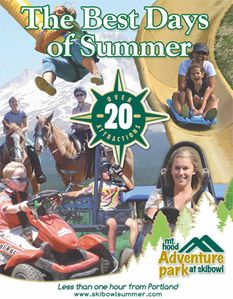 Adventure Park at Mt. Hood Skibowl! Free Shuttle, and discounted tickets!