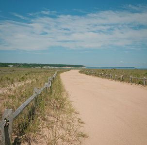 East Hampton house rental - Sammy's Beach is 5 Minutes from house.