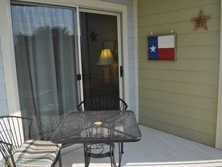 New Braunfels condo photo - Great patio with one of the best views of the river!