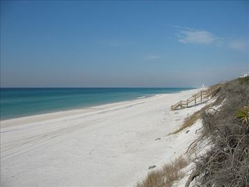 Seacrest Beach townhome rental - Private Beach with No Public Access. You can be here. Beach is 15 seconds away