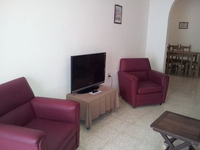Living Area (3 bed. maisonette)