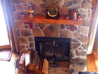 Berkeley Springs house photo - Fireplace