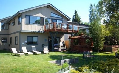 Tahoe Keys house rental - Relax on the water with private dock
