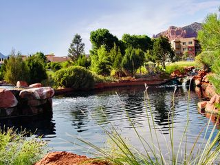 Sedona condo photo - Pond at Golf Course at the Ridge on Sedona Golf Resort
