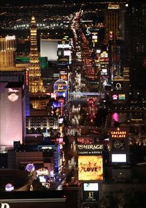"Las Vegas ""Strip"" courtesy of LVCVA"