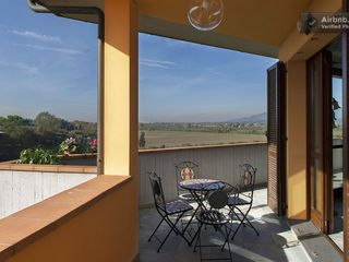 Montopoli Val d'Arno house photo - Wine and cheese with a sunset anyone? How about cappucino for two in the AM?