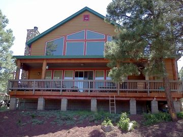 Mormon Lake cabin rental - Plenty of room with over 2,000 sq ft.