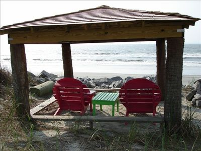 Tiki Hut in your Backyard to enjoy the beach and ocean!