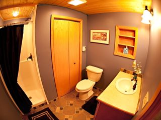 Grand Rapids cabin photo - Three-quarter bathroom.