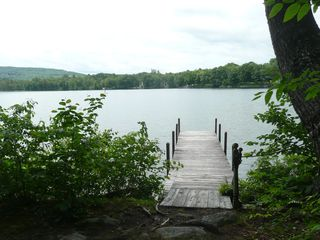 Wolfeboro cabin photo - Private dock