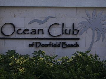 Welcome to Ocean Club of Deerfield Beach