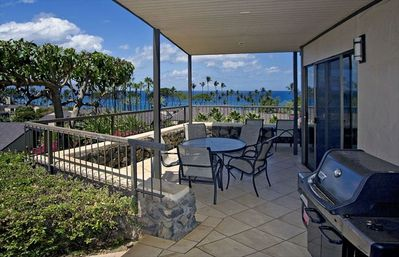 Elua 107 Lanai with Gas BBQ Grill and Ocean Views