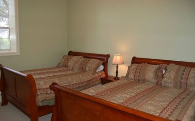 also suites with double queen size beds, many different sleeping arrangements