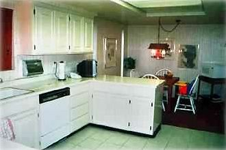 Fully Equipped Kitchen   dining area. (There is a Separate Dining Room -seats 8)