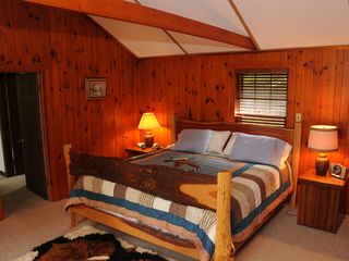 Saranac Lake cabin photo - master bedroom