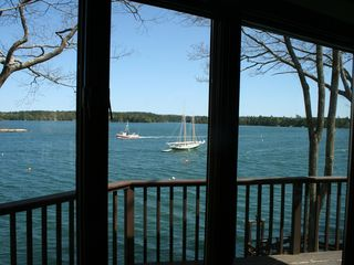 Harpswell house photo - The Harbergate is 50 feet of the ocean