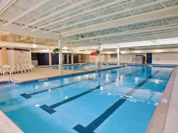 Indoor Swimming Pool at the Shawnee Village Resort